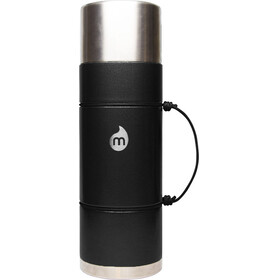 MIZU V10 Insulated Bottle with LE Drip 1000ml Black Hammer Paint